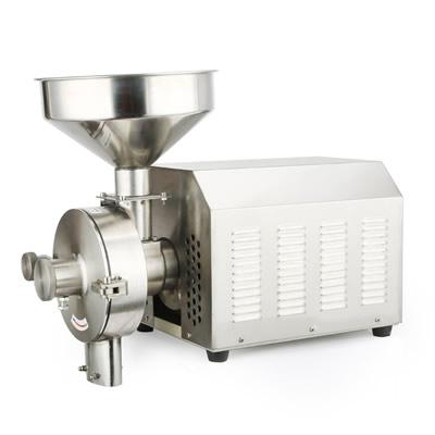 2500W五谷杂粮磨粉粉碎机 不锈钢打粉机超细研磨机 磨粉机家用商用