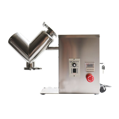 小型中型V型混合机不锈钢实验混合机原料搅拌机干粉混合机
